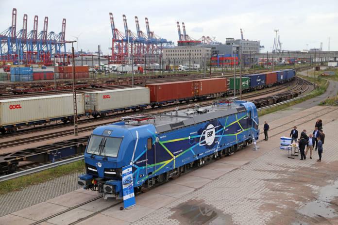 Die erste Smartron-Lok von EGP heißt »Hamburg«