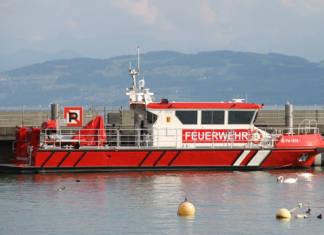 Bondensee, Feuerlöschboot