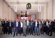 Nordfrost hat in Herne Richtfest für das neue Tiefkühllogistikzentrum gefeiert