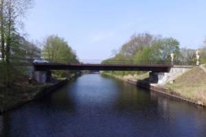 Die Rammrathbrücke, die über den Teltowkanal führt, wird ersetzt