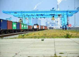 Von APMT Terminal auf der Maasvlakte 2 in Rotterdam fahren künftig Züge nach Herne