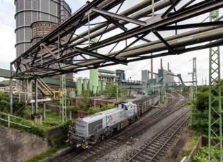 In Bottrop wickelt RheinCargo für den Stahl-Weltmarktführer ArcelorMittal die gesamte Logistik der Ver- und Entsorgung der Kokerei mit Kohle und Koks über die Schiene ab