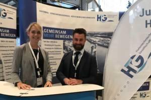 Stefanie Kolbaum und Frederik Treuel geben den Vorsitz der Jungen HTG ab