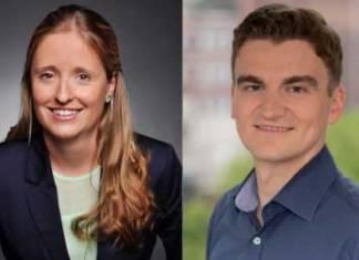Ayla Petersen und Sebastian Sand sind das neue Führungsteam der Jungen HTG