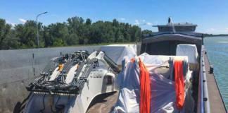 Liebherr-Mining Equipment Colmar sieht in Binnenschiffen ein geeignetes Verkehrsmittel für den Transport ihrer Schwergüter