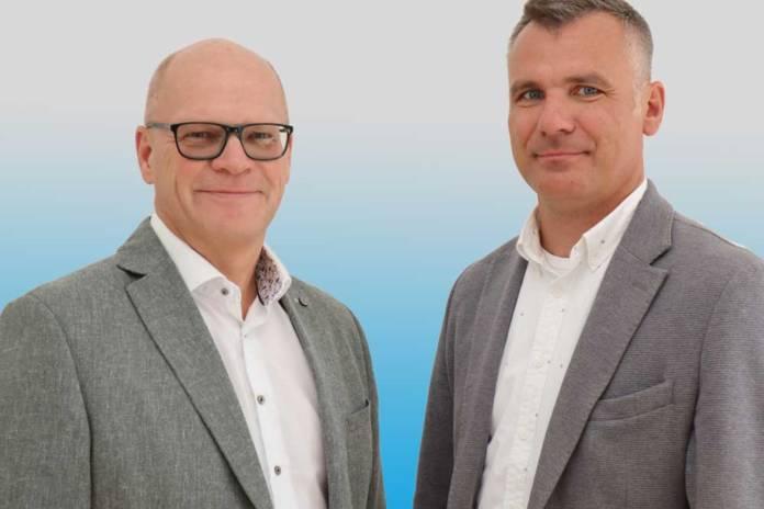 André van Olderen (l.) und Roman Cangar bilden nun die Führungsspitze von River Advice