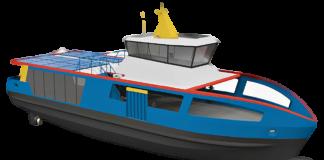 SFK, Düsternbrook, Elektro-Fähre, Holland Shipyard, Kiel, Neubau