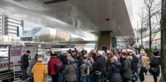 Für die Jungferfahrt nach Budapest des Twin City Liners war die Nachfrage groß