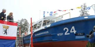 Die »Schwanenwerder« verstärkt die Flotte der Berliner Polizei