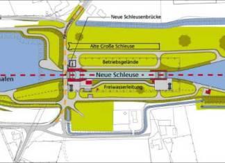 Johann Bunte Bauunternehmung sicherte sich den Zuschlag für den ersten Auftrag für die neue Schleuse Venhaus am Dortmund-Ems-Kanal