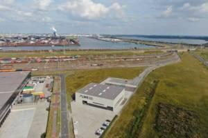 Der neue Locomotive Workshop Rotterdam (LWR), eine Reparaturwerkstatt für Lokomotiven, verfügt über acht Park- und sechs Arbeitsgleise