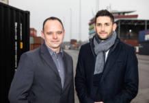 Andreas Fehringer und Harald Jony, Geschäftsführer der WienCont - c- Barbara Nidetzky