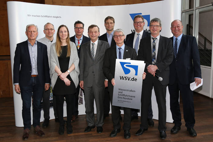 Team des WSA Ems-Nordsee