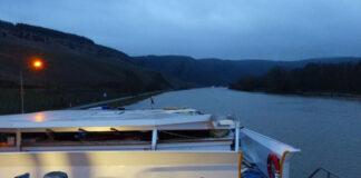 tankmotorschiff-kollidiert-mit-moselbruecke Polizei Trier