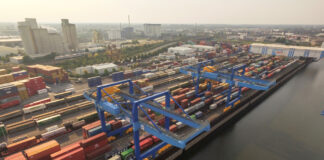 NDH, Neuss Trimodal, Container