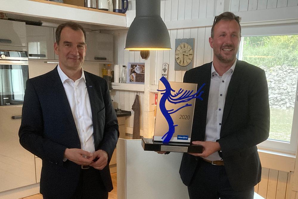 Innovationspreis, schramm, Allianz Esa, Franke