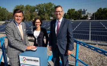 Wien, Solar, Hafen