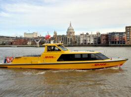 London, Wasser, Boot, City-Logistik