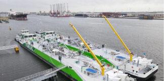 Antwerpen, LNG, Bunkerbarge