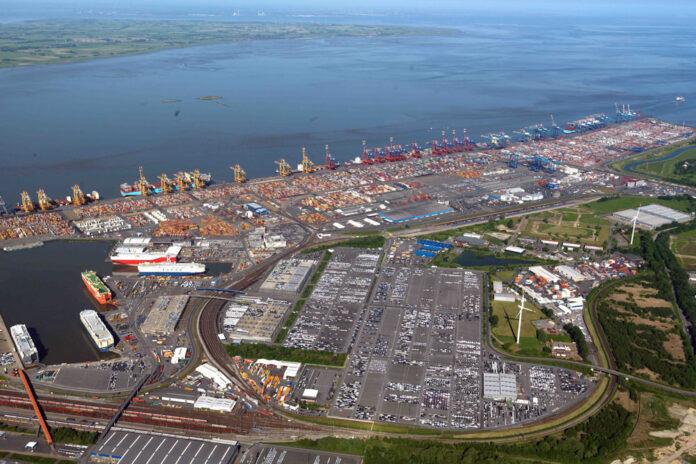 Bremen, Häfen, Bremerhaven, Container, Umschlag