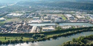 Trier, Hafen, Mosel, Hafen