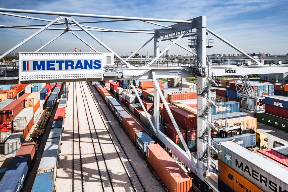 Metrans-Bahnterminal in Budapes