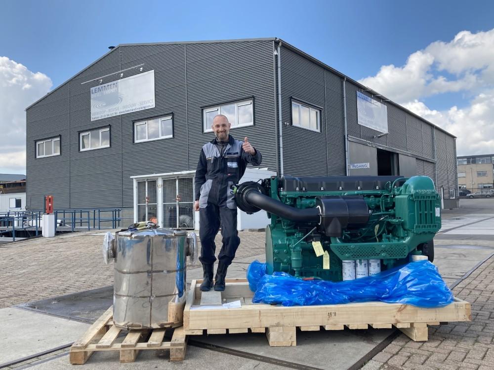 Premiere für Stufe-V-Motor von Volvo