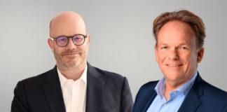 Hellmann Vorstand: Martin Eberle (CFO) und Reiner Heiken (CEO)