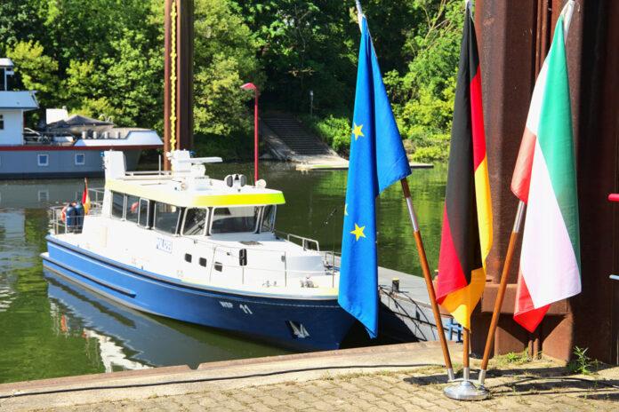 WSP 11, Emmerich, Rheinstreifenboot