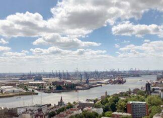 Häfen, Emissionen, Hamburg