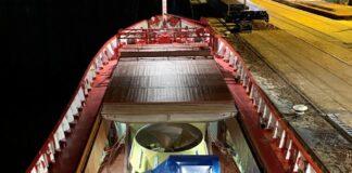 Die »Saturn« bringt die Antriebe für das Schwerlast-Kranschiff »Les Alizés« ins chinesische Haimen© Schottel