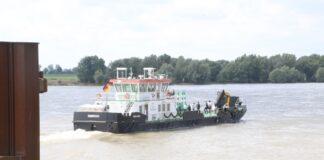Emmerich, Arbeitsschiff, Bolle, Rhein