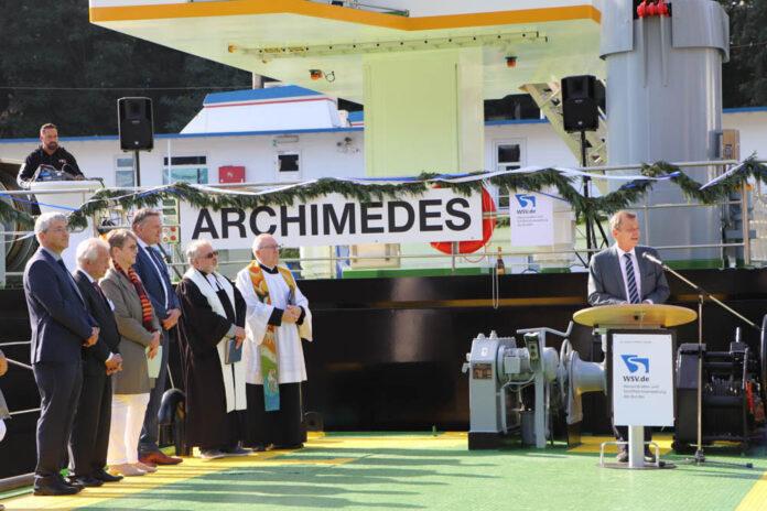 Archimedes, Taucherglockenschiff