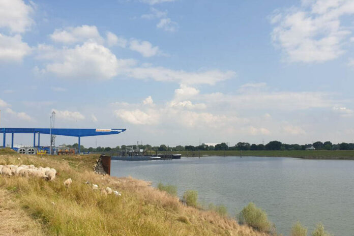 GS-Recycling, Wesel, Hafen