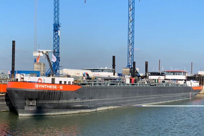 Die »Synthese 12« ergänzt die Edelstahltankflotte © HGK Shipping