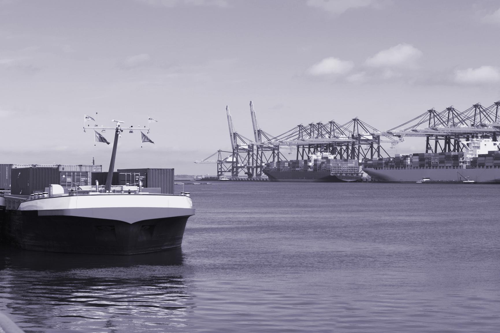 Hafen-Projekt für weniger Lieferverkehr in den Städten